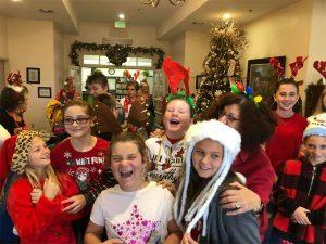 Christmas Caroling at Winnie Arboretum
